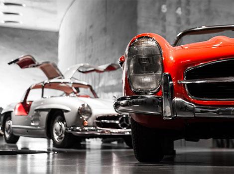 Spezialtransporte von Oldtimer und Sportwagen